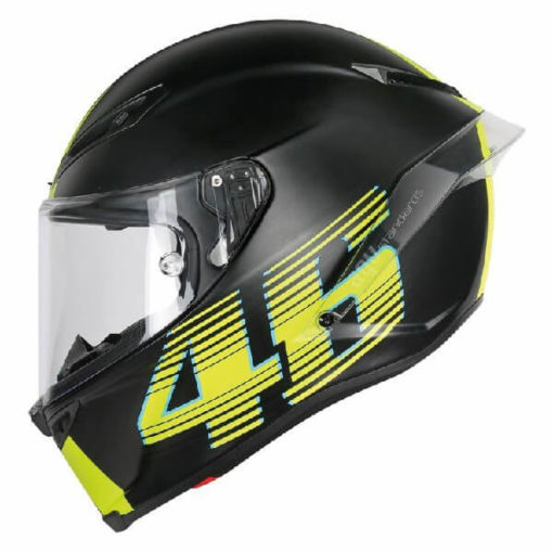 AGV Corsa R Top PLK V46 Matt Black Full Face Helmet 3