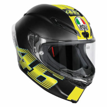 AGV Corsa R Top PLK V46 Matt Black Full Face Helmet