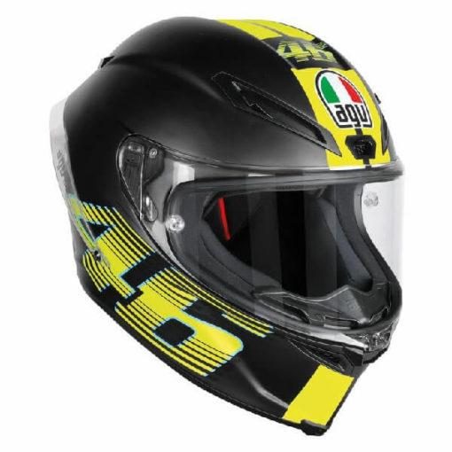AGV Corsa R Top PLK V46 Matt Black Full Face Helmet