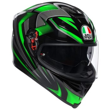 AGV K 5 Hurrican 2.0 Black Green Multi Plk