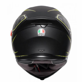 AGV K5 S Multi Plk Tornado Matt Black Fluorescent Yellow Full Face Helmet 1