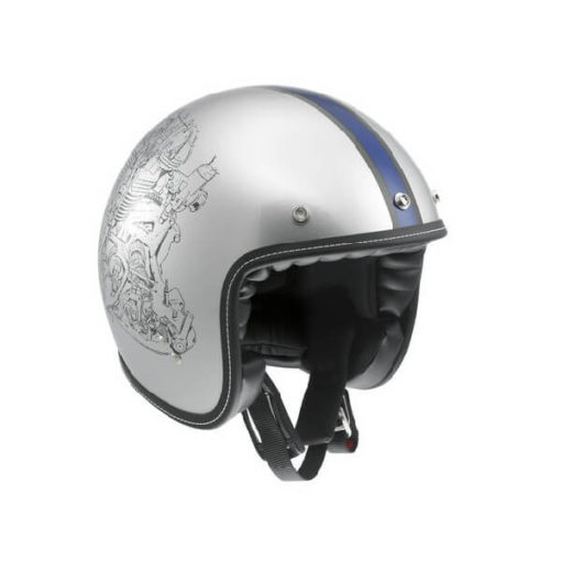 AGV RP 60 Multi Engine Matt Grey Open Face Helmet