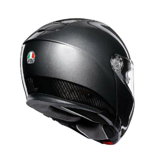 AGV Sportmodular Multi Plk Matt Carbon Dark Grey Modular Helmet 1