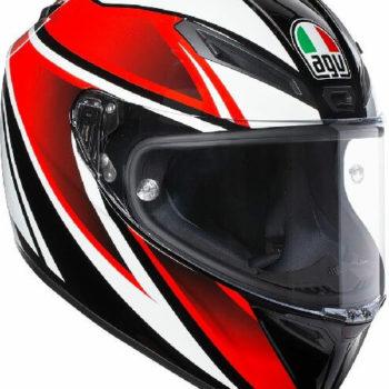 AGV Veloce S Multi Plk Gloss Feroce Black Red Full Face Helmet
