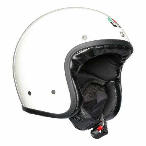 AGV X70 Gloss Solid White Open Face Helmet