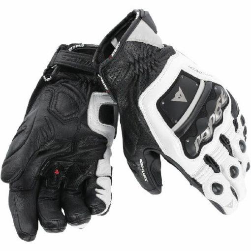 Dainese 4 Stroke Evo White Black Riding Gloves