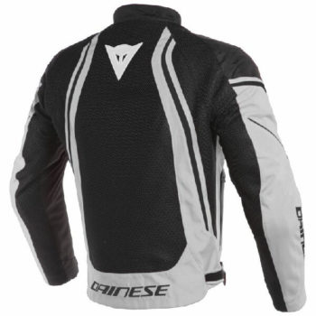 Dainese Air Crono 2 Textile Black Grey Riding Jacket 1