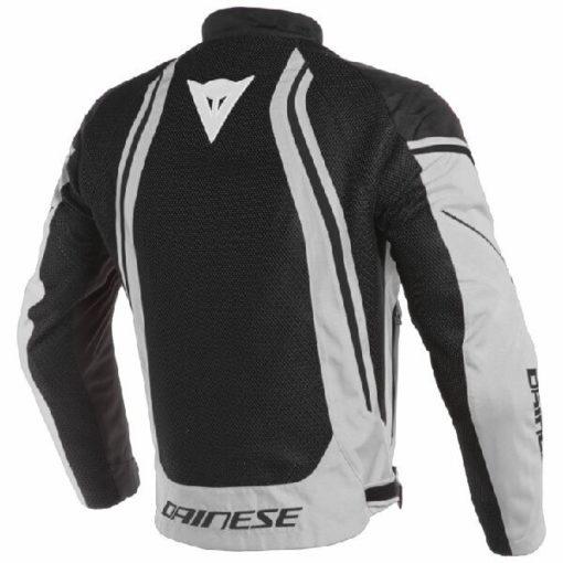 Dainese Air Crono 2 Textile Black Grey Riding Jacket 1