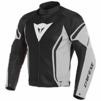 Dainese Air Crono 2 Textile Black Grey Riding Jacket