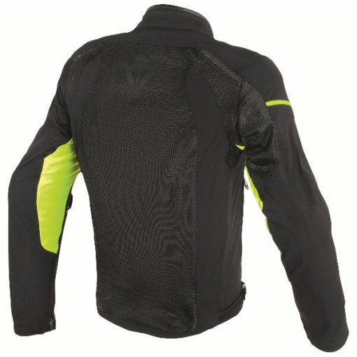 Dainese Air Frame D1 Textile Black Fluorescent Yellow Riding Jacket 1