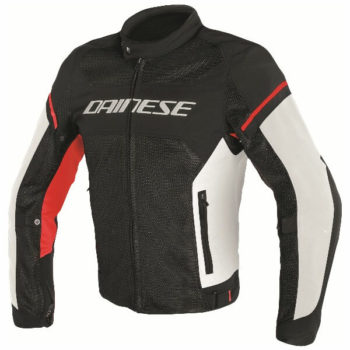 Dainese Air Frame D1 Textile Black Red Riding Jacket