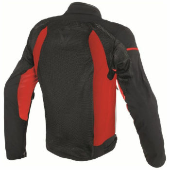 Dainese Air Frame D1 Textile Black White Red Riding Jacket 1