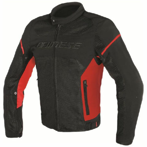 Dainese Air Frame D1 Textile Black White Red Riding Jacket