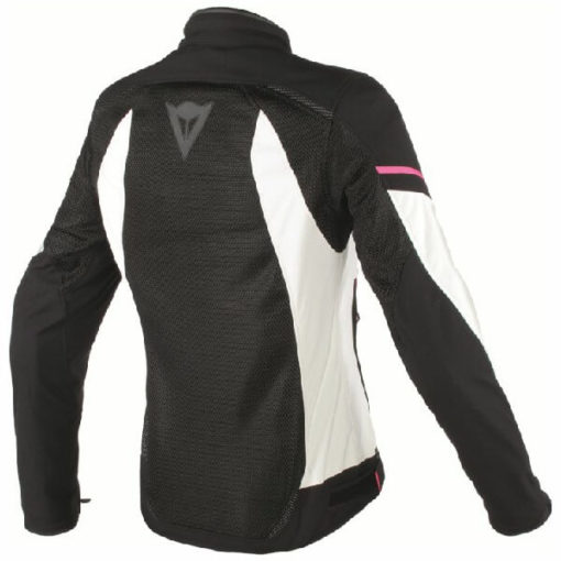 Dainese Air Frame D1 Textile Lady Black Grey Fluxia Riding Jacket 1