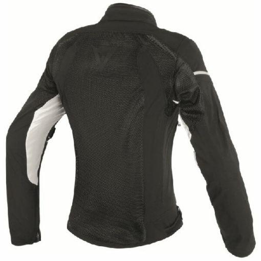 Dainese Air Frame D1 Textile Lady Black White Riding Jacket 1