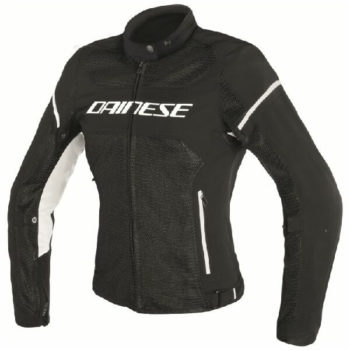 Dainese Air Frame D1 Textile Lady Black White Riding Jacket