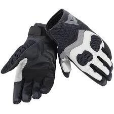 Dainese Air Mig Grey Anthracite Black Riding Gloves