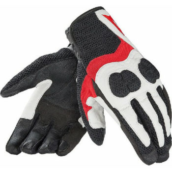 Dainese Air Mig Lady White Red Black Riding Gloves