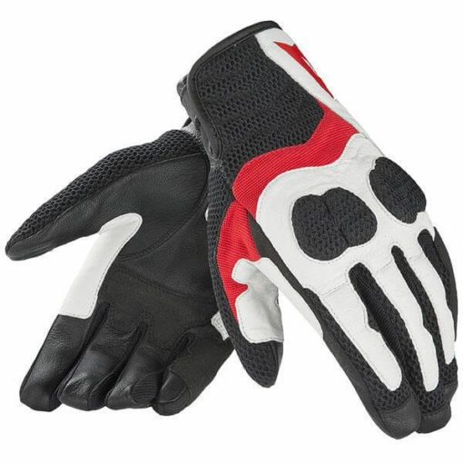 Dainese Air Mig White Red Black Riding Gloves