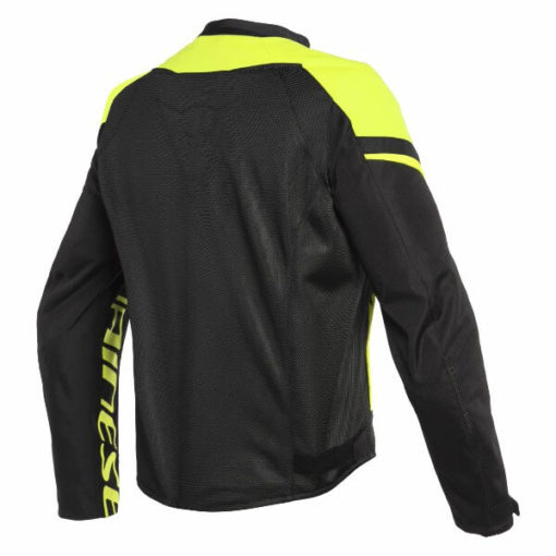 Dainese Bora Air Tex Black Fluorescent Yellow Riding Jacket 1