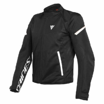 Dainese Bora Air Tex Black White Riding Jacket