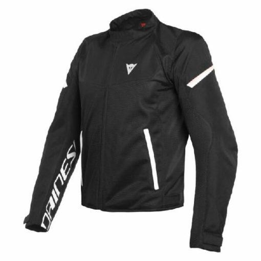 Dainese Bora Air Tex Black White Riding Jacket