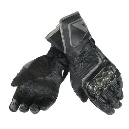 Dainese Carbon D1 Long Black Riding Gloves