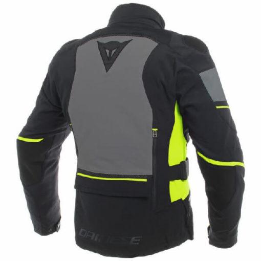 Dainese Carve Master 2 Goretex Black Ebony Fluorescent Yellow Riding Jacket 1
