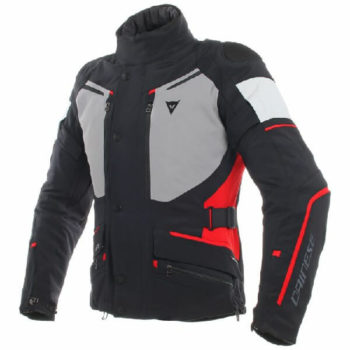 Dainese Carve Master 2 Goretex Black Grey Red Riding Jacket