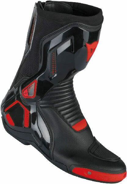 Dainese Course D1 Out Air Nero Fluorescent Red Riding Boots