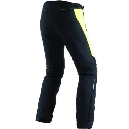 Dainese D Stormer D Dry Black Fluorescent Yellow Riding Pants 1