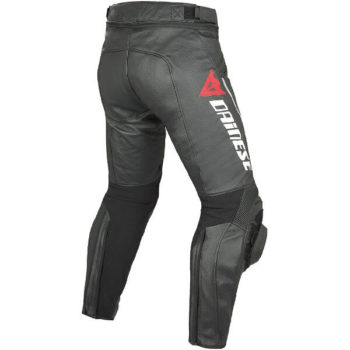 Dainese Delta Pro C2 Perforated Black Leather Riding Pant 1