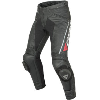 Dainese Delta Pro C2 Perforated Black Leather Riding Pant