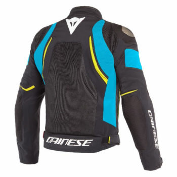 Dainese Dinamica Air D Dry Black Blue Fluorescent Yellow Riding Jacket 1