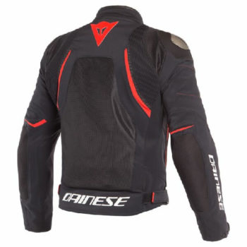 Dainese Dinamica Air D Dry Black Red Riding Jacket 1
