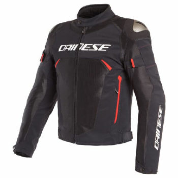 Dainese Dinamica Air D Dry Black Red Riding Jacket