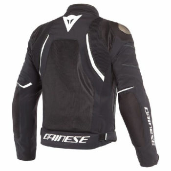 Dainese Dinamica Air D Dry Black White Riding Jacket 1