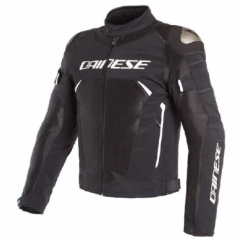 Dainese Dinamica Air D Dry Black White Riding Jacket
