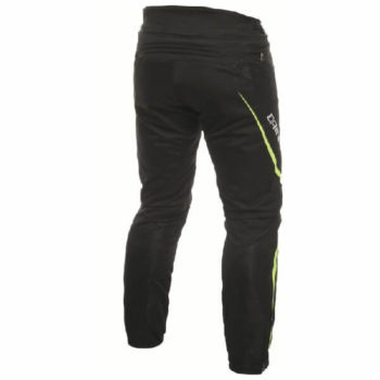 Dainese Drake Air D Dry Black Fluorescent Yellow Riding Pants 1