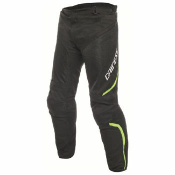 Dainese Drake Air D Dry Black Fluorescent Yellow Riding Pants