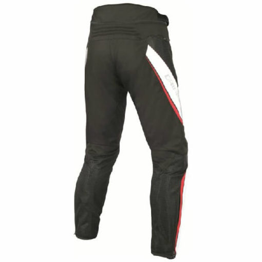 Dainese Drake Air D Dry Black White Red Riding Pants 1