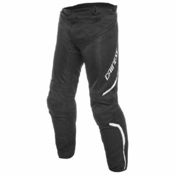 Dainese Drake Air D Dry Black White Riding Pants