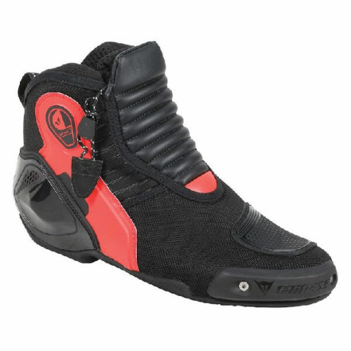 Dainese Dyno D1 Black Fluorescent Red Riding Shoes