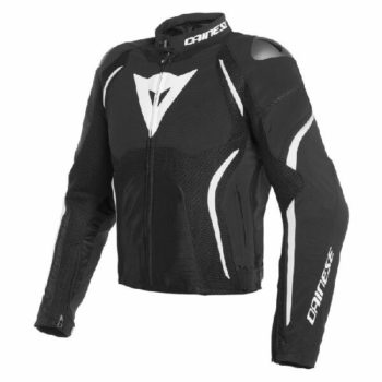 Dainese Estrema Air Tex Black White Riding Jacket