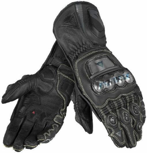 Dainese Full Metal D1 Black Riding Gloves