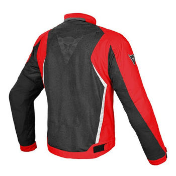 Dainese Hydra Flux D Dry Black Red White Riding Jacket 1