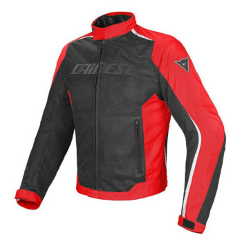 Dainese Hydra Flux D Dry Black Red White Riding Jacket