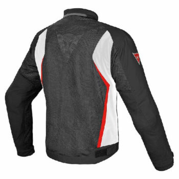 Dainese Hydra Flux D Dry Black White Red Riding Jacket 1