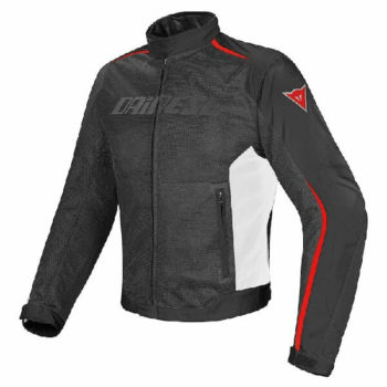 Dainese Hydra Flux D Dry Black White Red Riding Jacket