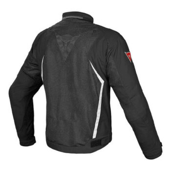 Dainese Hydra Flux D Dry Black White Riding Jacket 1